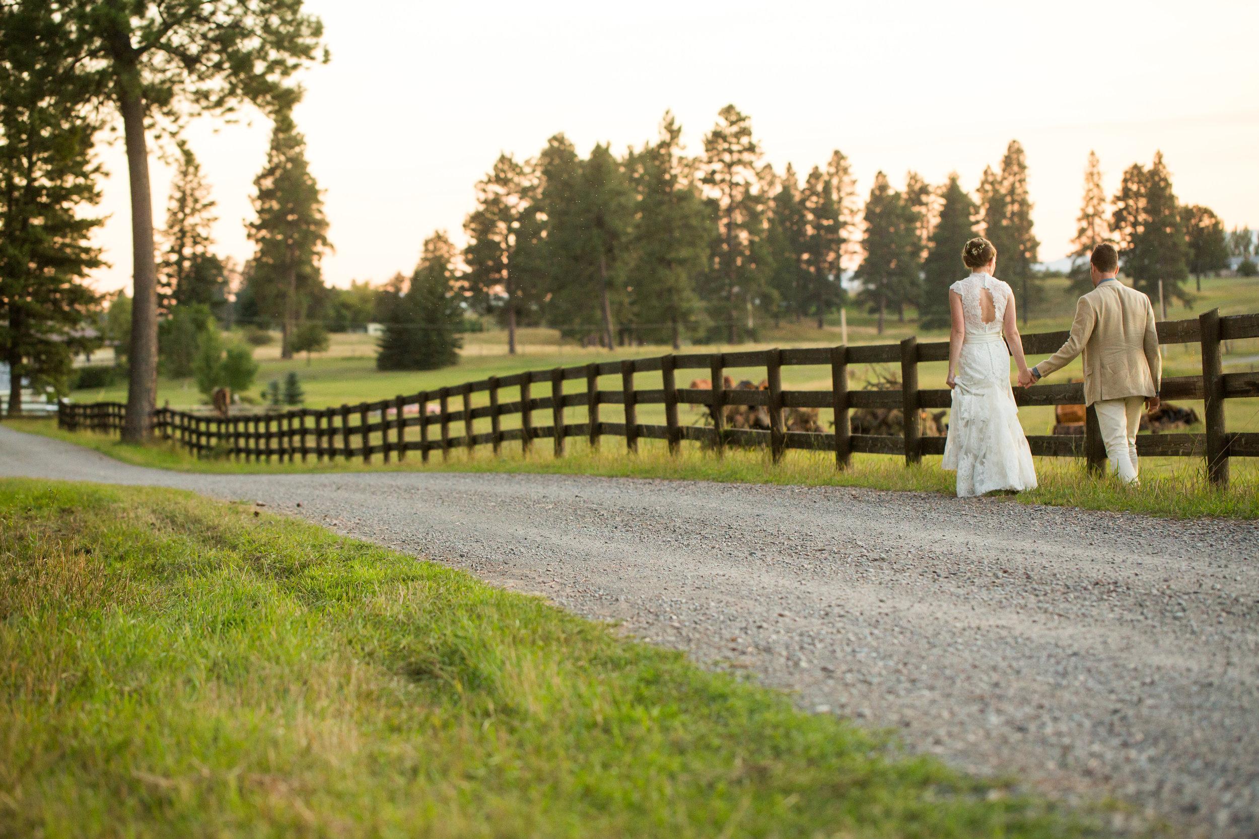 Romantic Montana Wedding at the Weatherwood Homestead