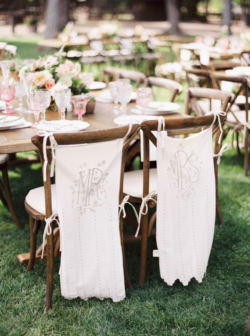 Mr and Mrs Place Setting_Rustic Chic Wedding.jpg
