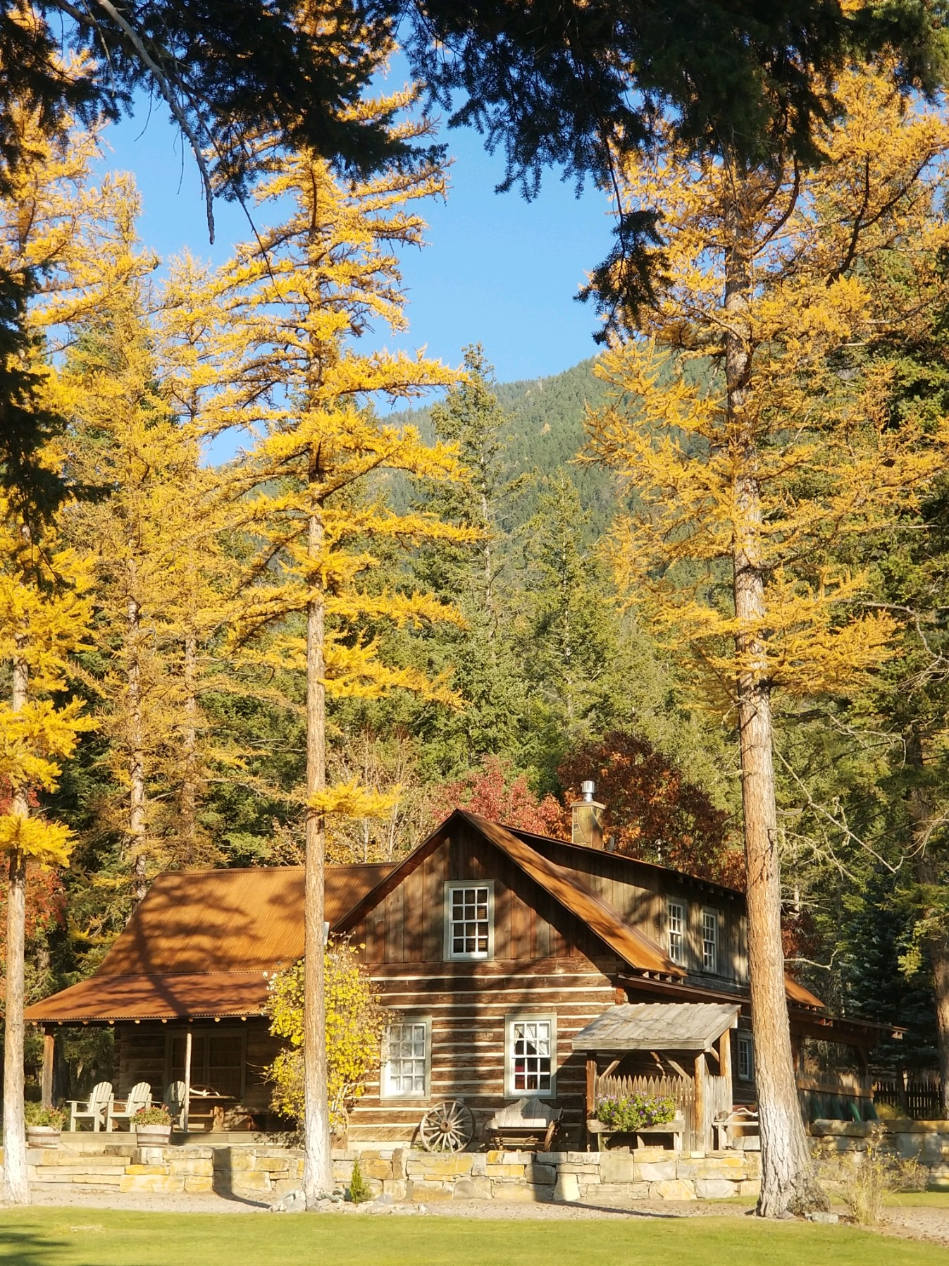 The Weatherwood Homestead is available to Glacier National Park guests from May 15 - October 15.