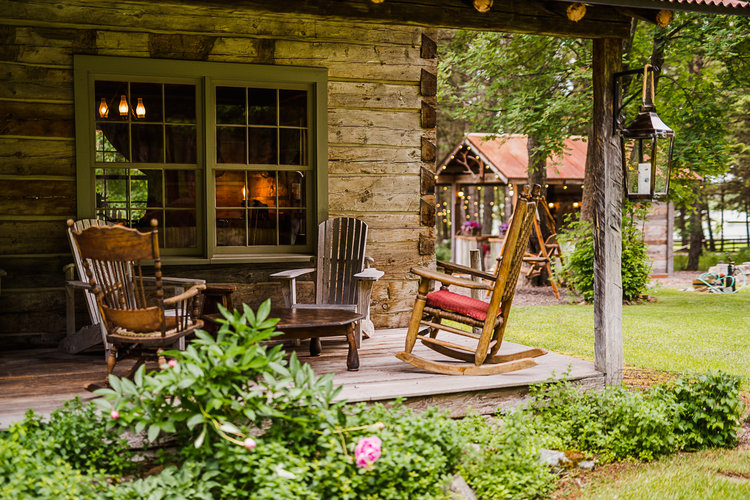 The Weatherwood Homestead welcomes all spring, summer, and fall visitors to Glacier National Park.