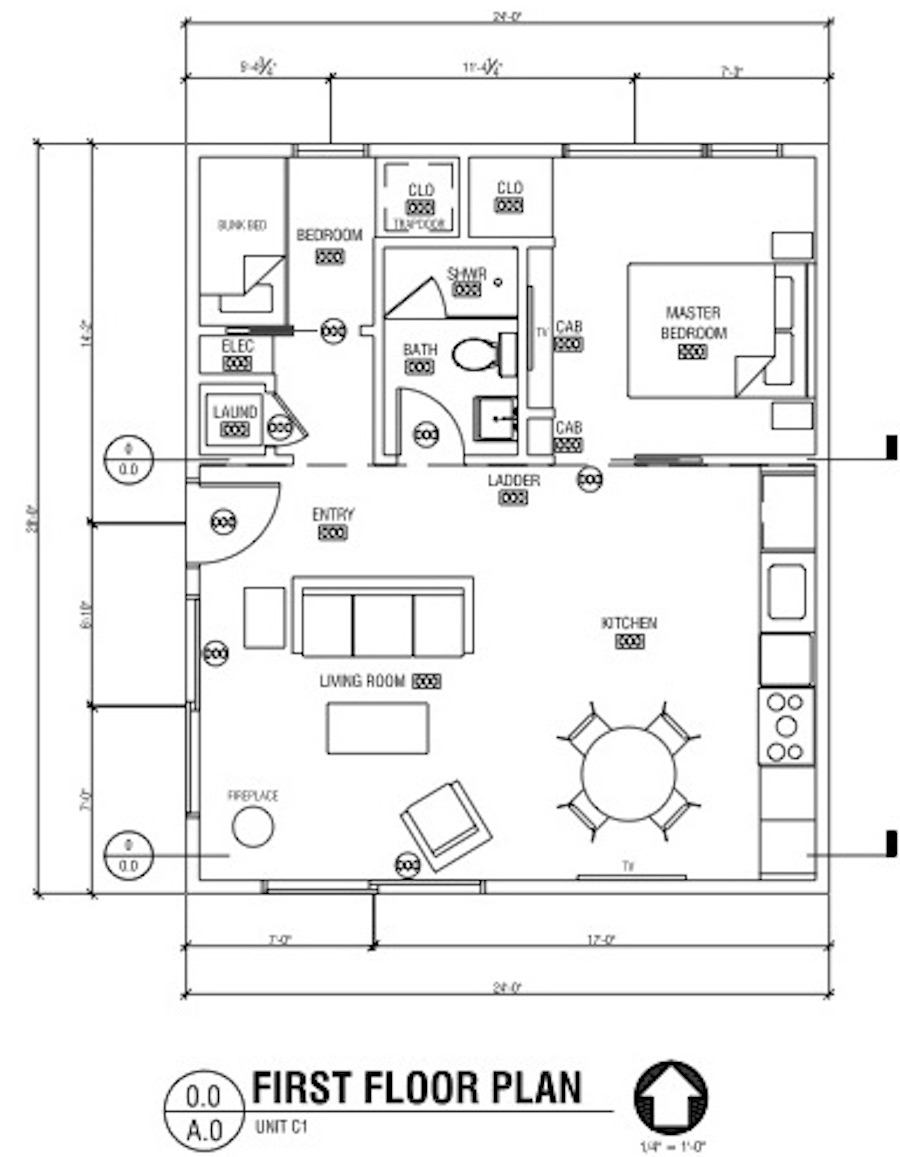 UNIT C1 FIRST FLOOR