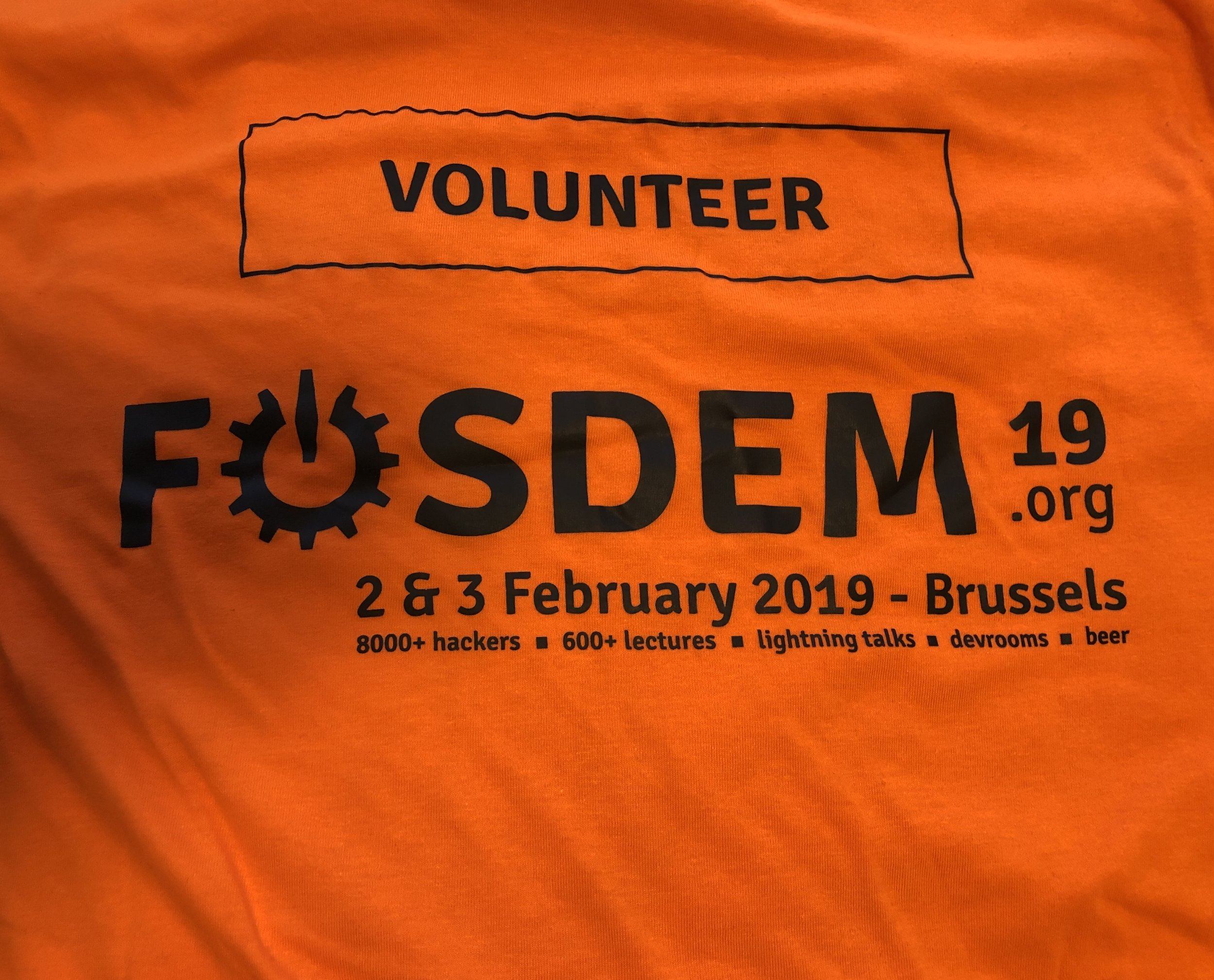 FOSDEM-2019-Volunteer-Shirt-Back