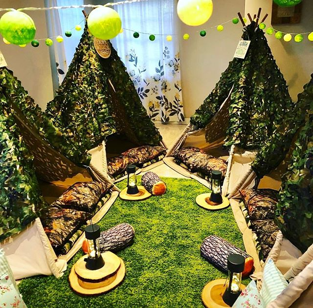 Teepee parties for boys. Camping and let's have fun#entertainment #limo #kids#boys#entertainment #priceless #limo #birthdays#