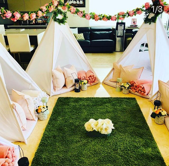 Teepee parties. Contact us and let's celebrate together #party #birthdays #events #miami#weston#parkland #cocoplum
