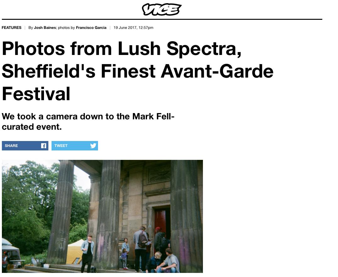 Lush Spectra  - Vice