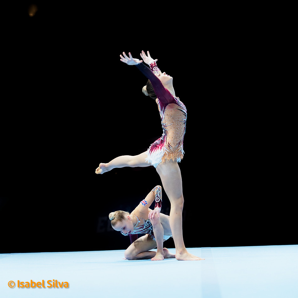 Sasha Carpenter and Poppy Yates, World Age Group Competitions 2018 Qualifications