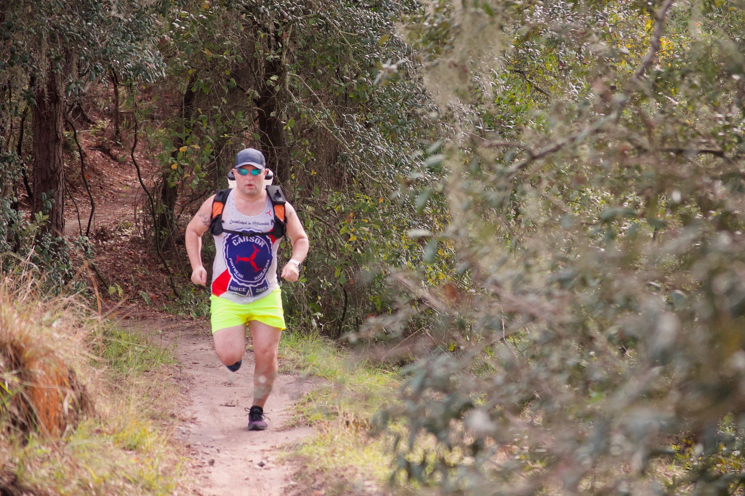 Cory Scotti @mudrocksandmountaintops  Being over weight and stressed out brought Cory back to his passion of discovering new trails. In need of a change he started running the trails he loved as a kid. Now he finds himself playing in the dirt whenever and wherever possible.