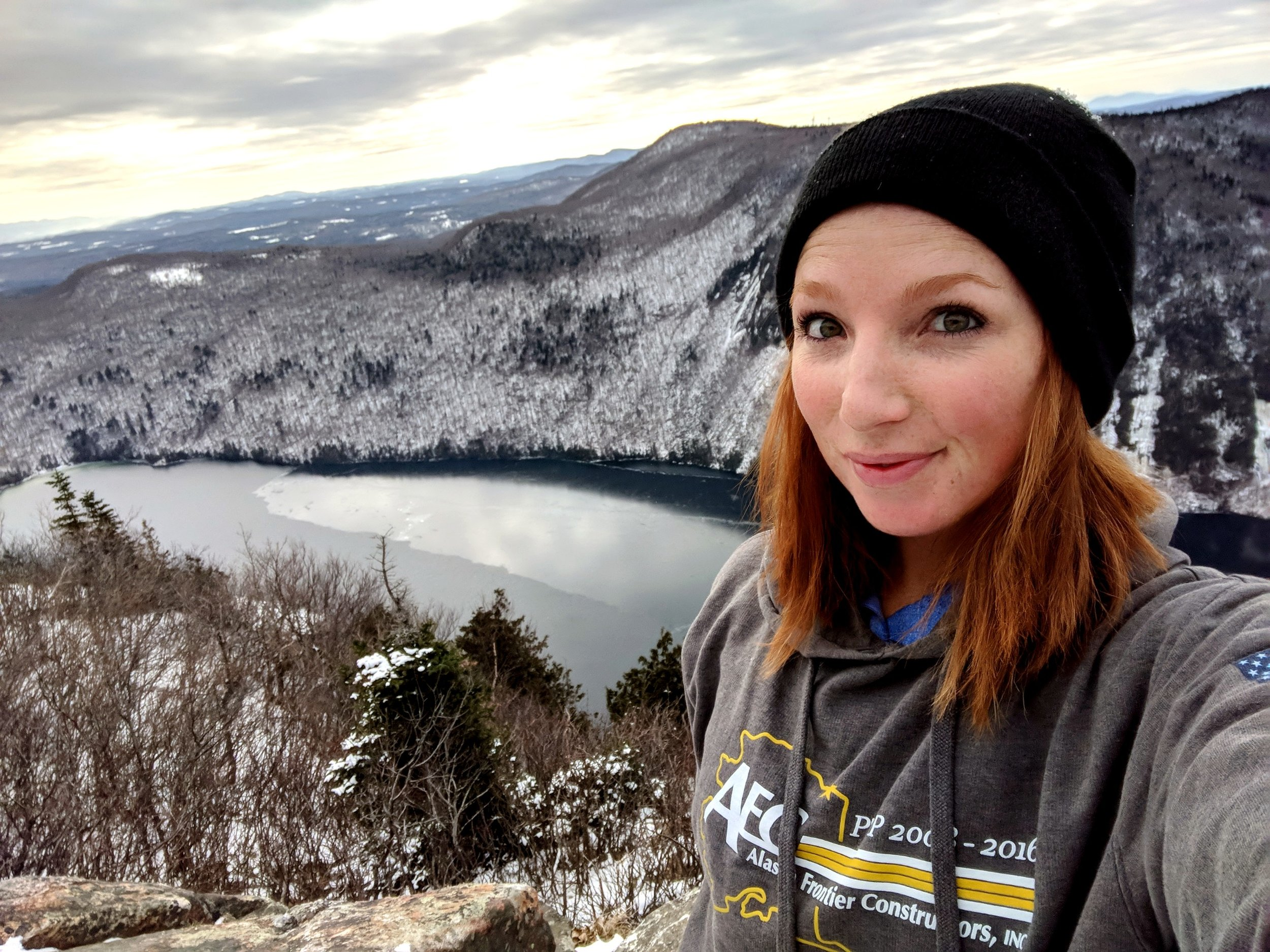 Kristen Gonyaw @ginger_gon_trailin  Kristen is a 27 year old Vermonter who's love for distance started while competing her horses in 50-100 mile endurance races. She completed her first ultra after moving to Central Pennsylvania in 2016 and she hasn't stopped running since. Even though challenging, she enjoys balancing time between herself and her horses which means when she's not running, she's riding! This year she plans to return to her home state to attempt her first Vermont 100. Her goal is to one day be as badass as her horse.
