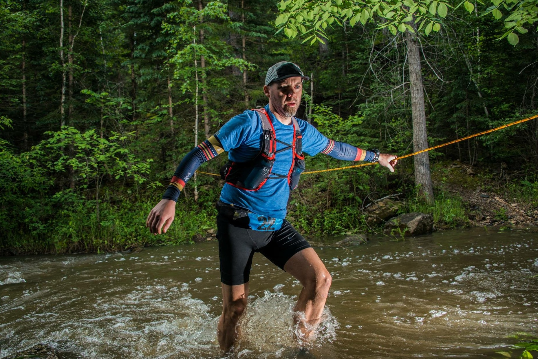 Erik Dahl @eadahl  Erik Dahl is a trail and ultra runner living in Michigan with his wife and two kids. After playing soccer through college and a physically lethargic 20's and 30's, he begrudgingly started running again in 2014 and somehow fell in love with running ultra distances. Erik is always looking for challenges and adventure runs to explore the natural world and connect with himself or others.
