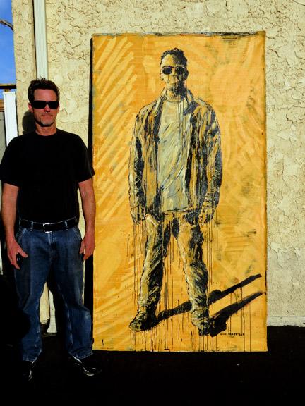 Figurative painting Nate Carpenter artist John Robertson