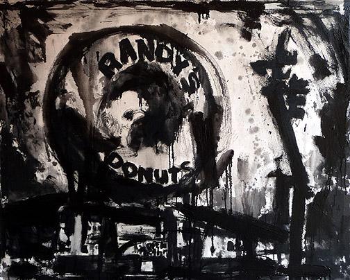 Randy's Donuts - 4 x 5 feet
