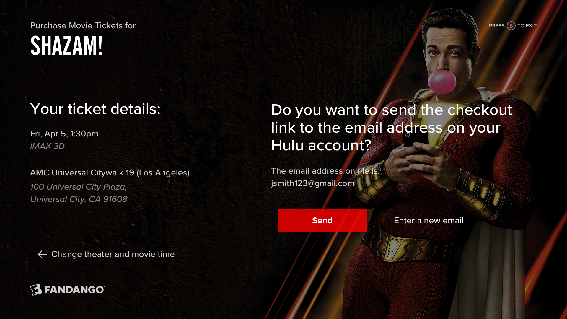 8 - Checkout with Hulu email.png