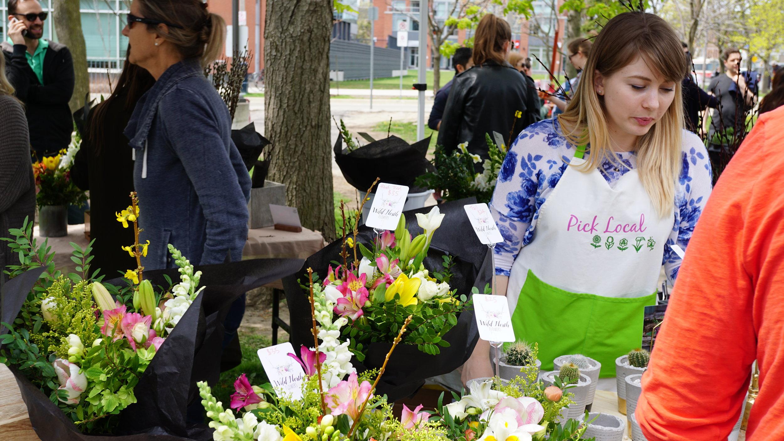 Photograph by  Toronto Flower Market  ( Wild North Flowers )