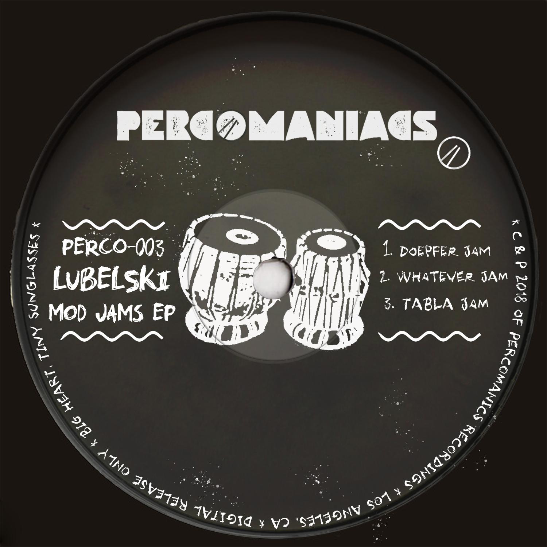 PERCO003 - Lubelski - Modular Jams EP