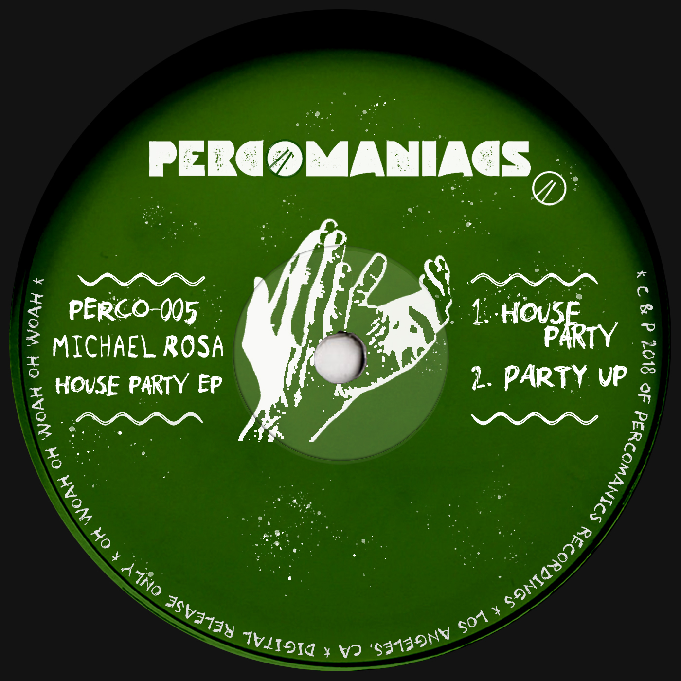 PERCO005 - Michael Rosa - House Party EP