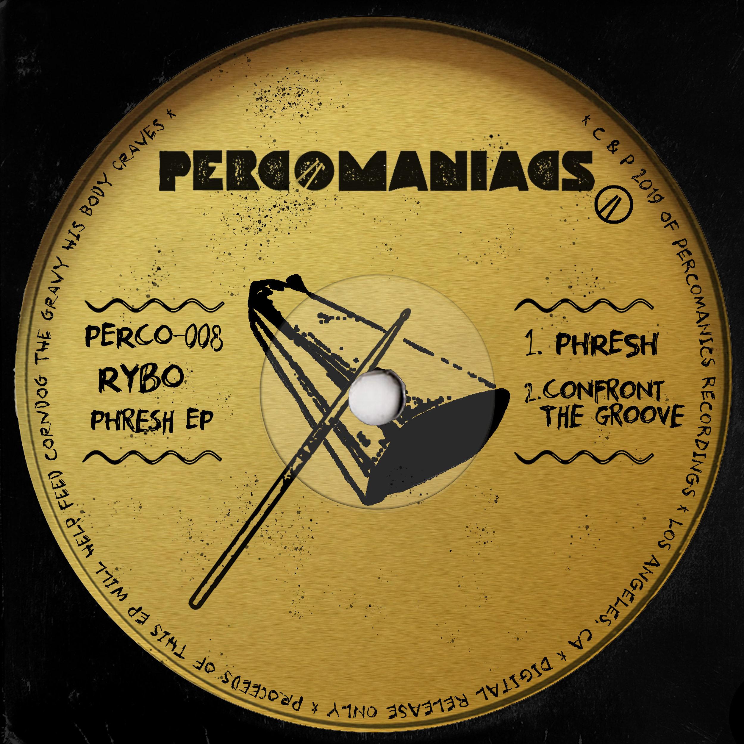 PERCO008 - RYBO - PHRESH EP