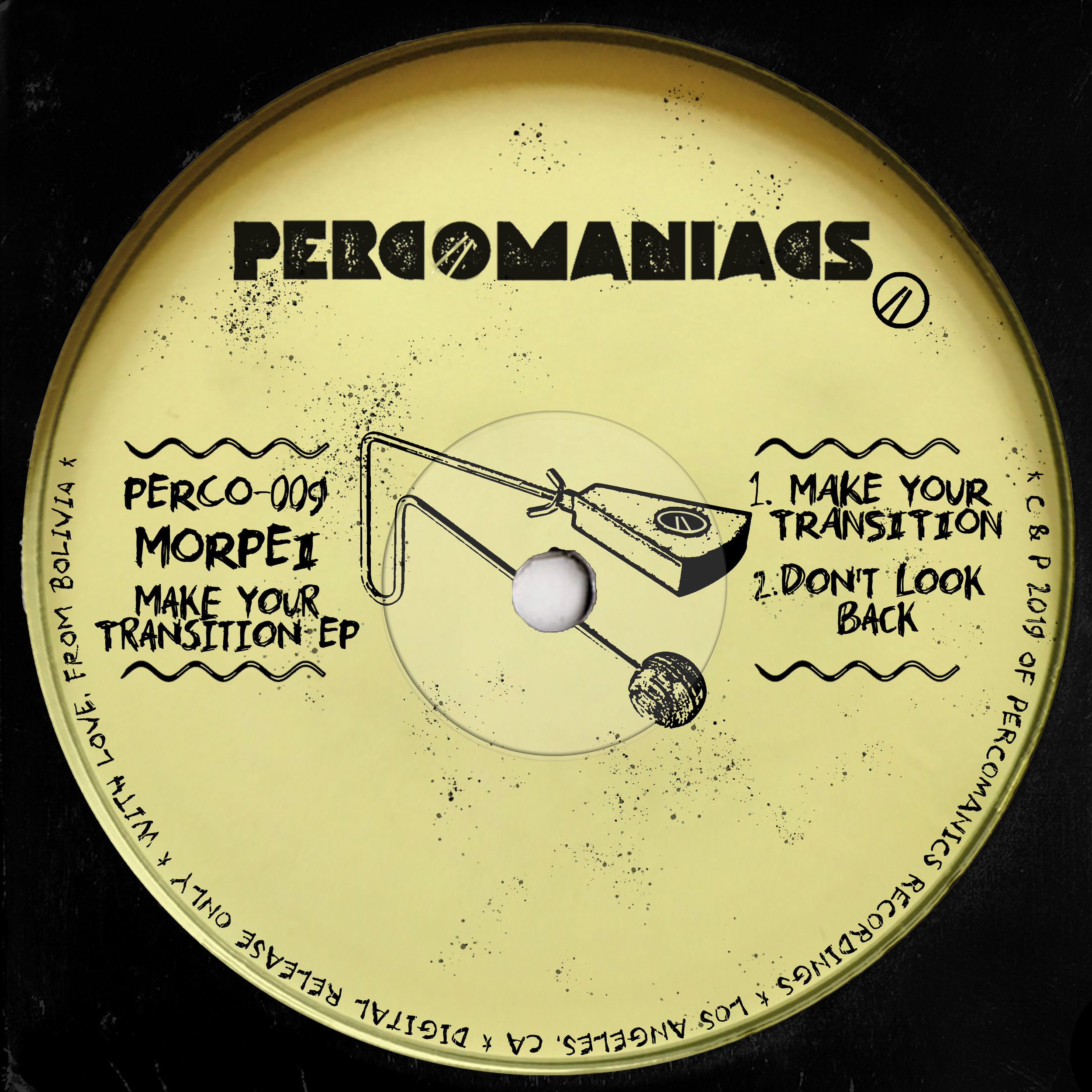 PERCO009 - MORPEI - MAKE YOUR TRANSITION EP