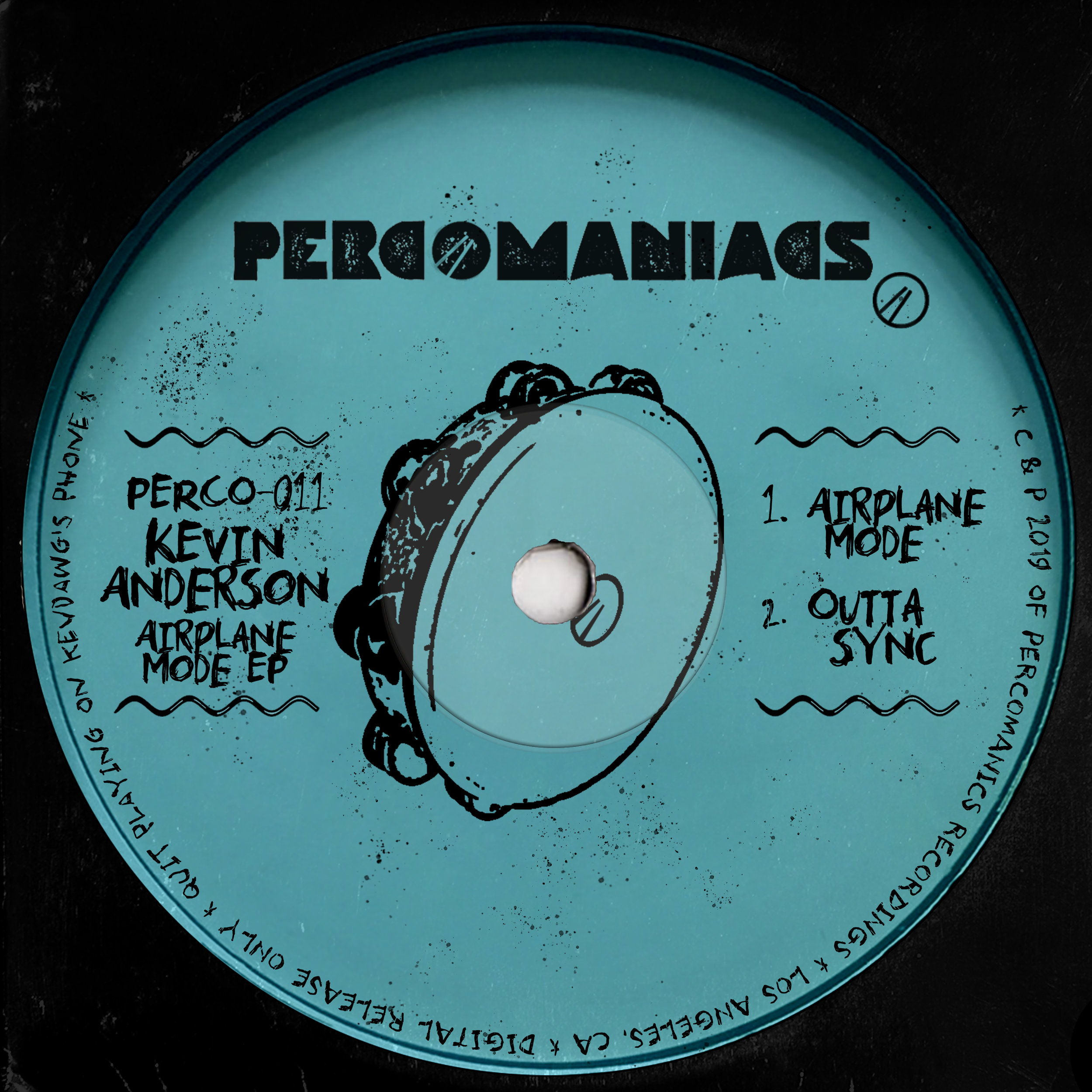 PERCO011 - KEVIN ANDERSON - AIRPLANE MODE EP