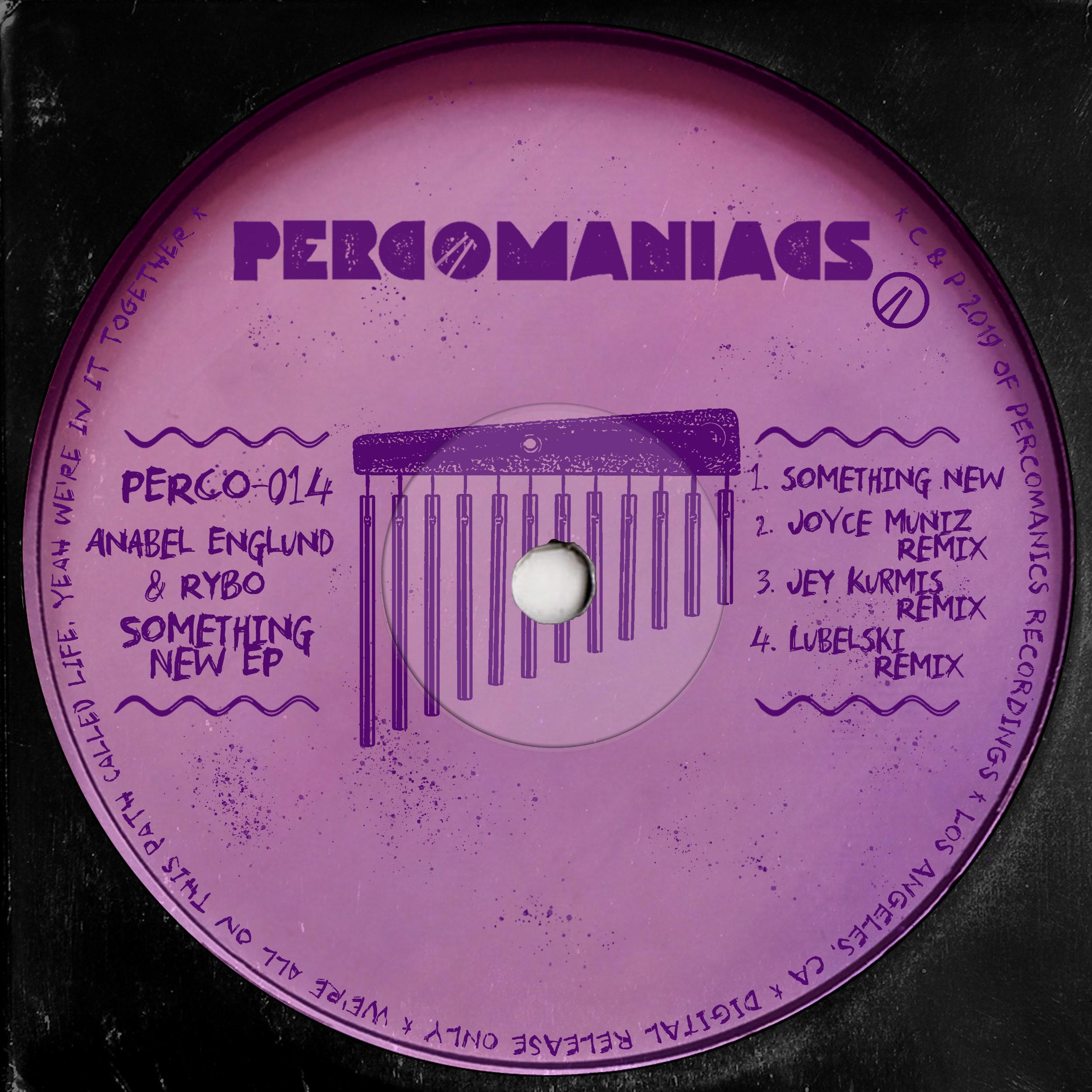 PERCO014 - ANABEL ENGLUND, RYBO - SOMETHING NEW EP