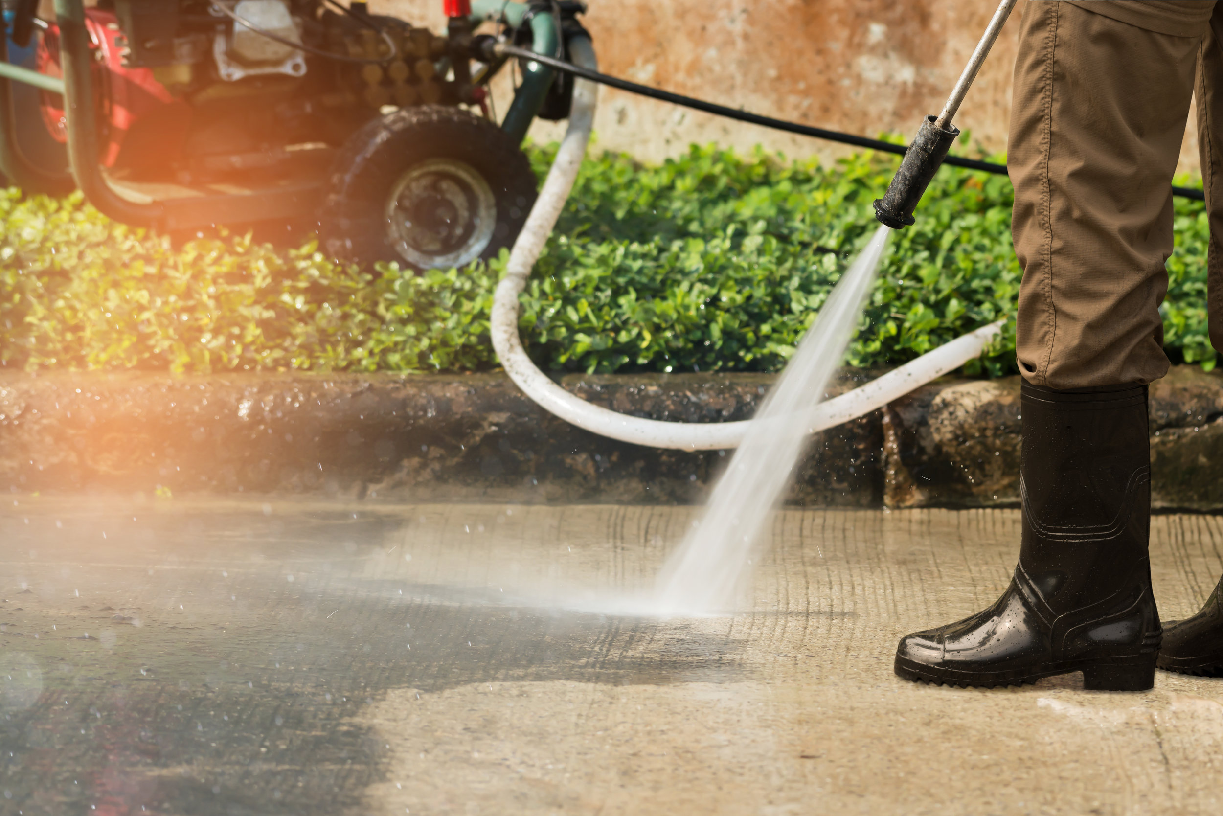Pressure Washing — D&A Building Services