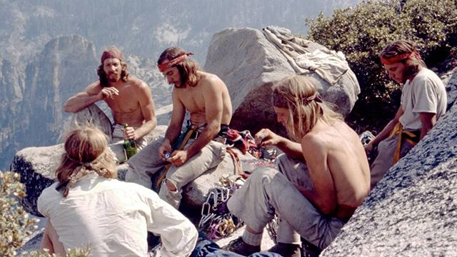 The men who brought Rock and Roll to Rock Climbing in the 70's, The Stonemasters...roll it up! (Bard (back to camera), Jim Bridwell, Fred East, Billy Westbay, and Jay Fisk on top of El Capitan after a weeklong climb) photo: Werner Braun, https://www.gq.com/story/stonemasters-rock-climbing-oral-history⠀ ⠀ #rollboyds #harmonyfarms #washingtonweed #weedporn #i502 #legalweed #fairmarketcannabis #cannabiscommunity #hemp #cannabis #blunts #cbd #instacannabis #cannabis420 #weedsociety #potheadworld #cannabisheals #stayblazed #dailycannabis #prerolls #wernerbraun #GQSTYLE⠀ ⠀ WARNING: This product has intoxicating effects and may be habit forming. Smoking is hazardous to your health. There may be health risks associated with consumption of this product. Should not be used by women who are pregnant or breast feeding. Keep out of reach of children. Marijuana can impair concentration, coordination, and judgement. It is illegal to operate a vehicle or machinery while under the influence of marijuana. This product is unlawful outside Washington State.⠀