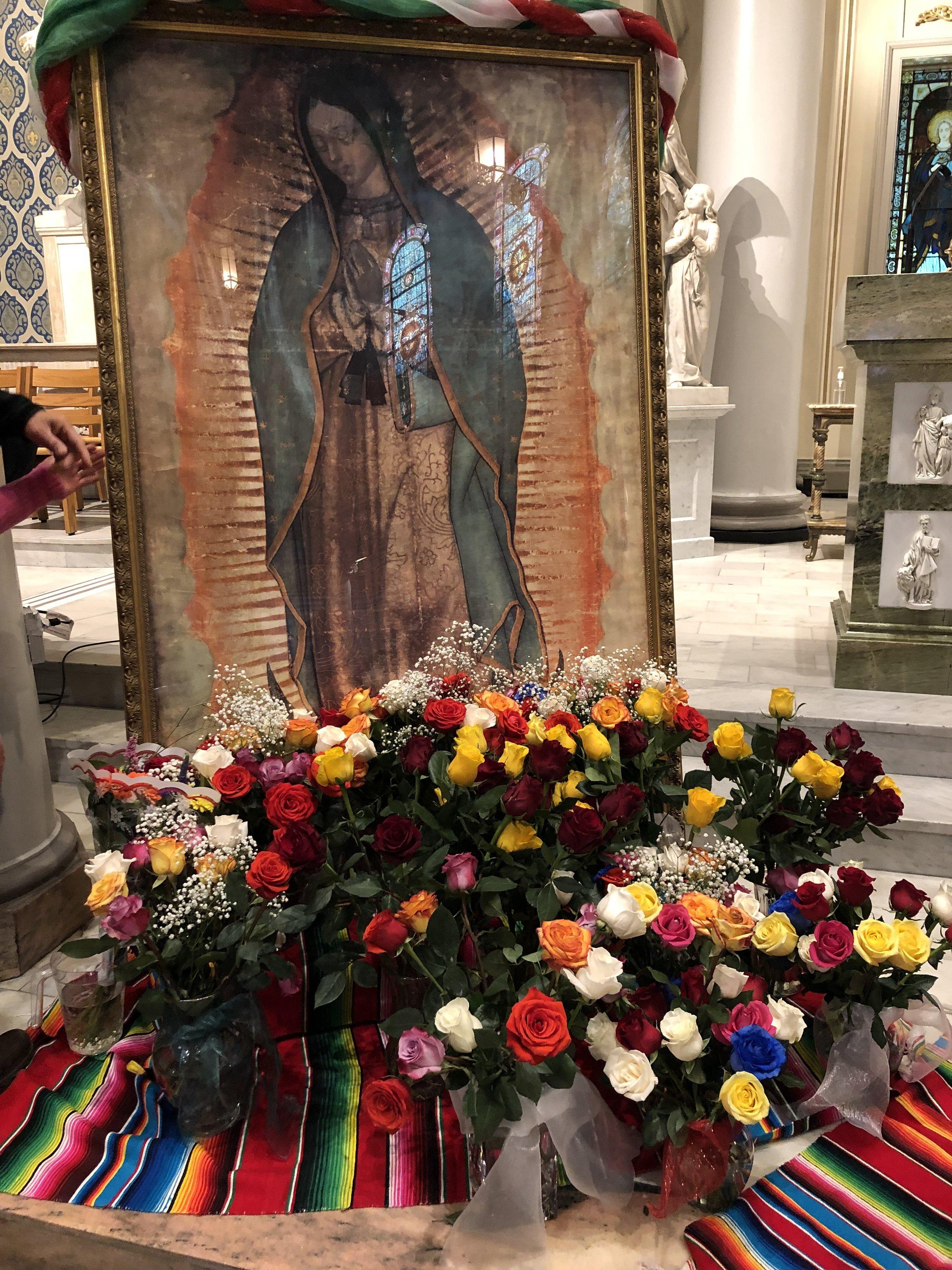 December 9, 2018—St. Francis de Sales' parish celebration of Our Lady of Guadalupe
