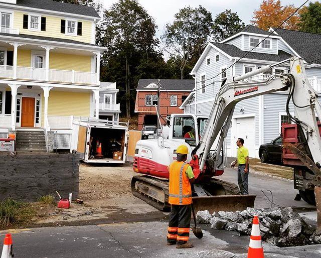 Just keep digging, Just keep digging. dig, dig, dig.  #coscobct, #redcanoepartners,  #construction, #aaaadvantagect
