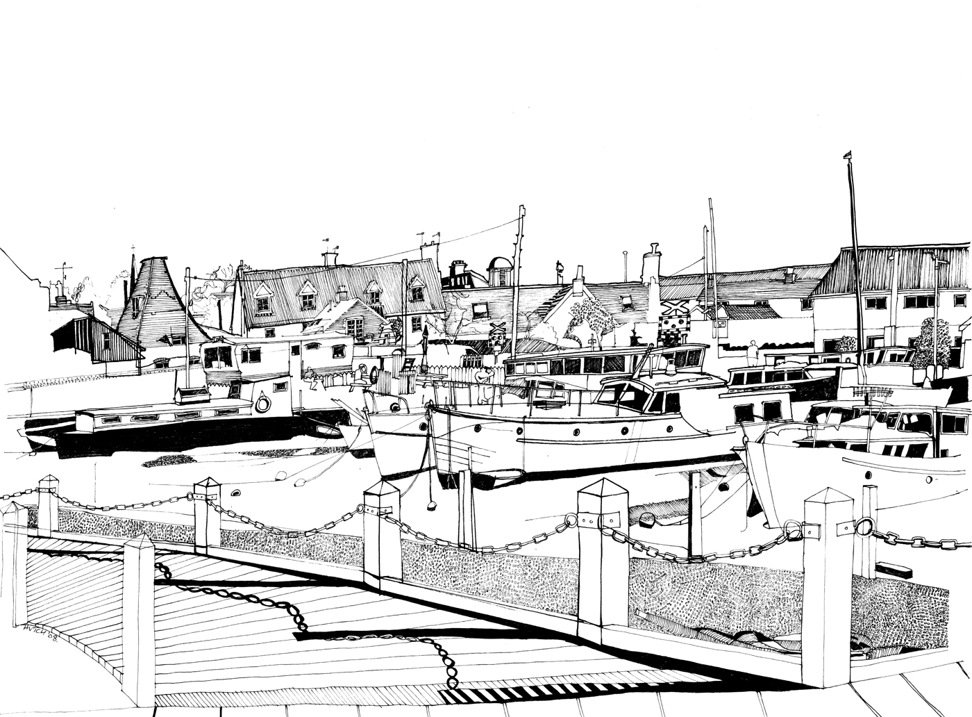 Woodbridge Harbour in May.jpg