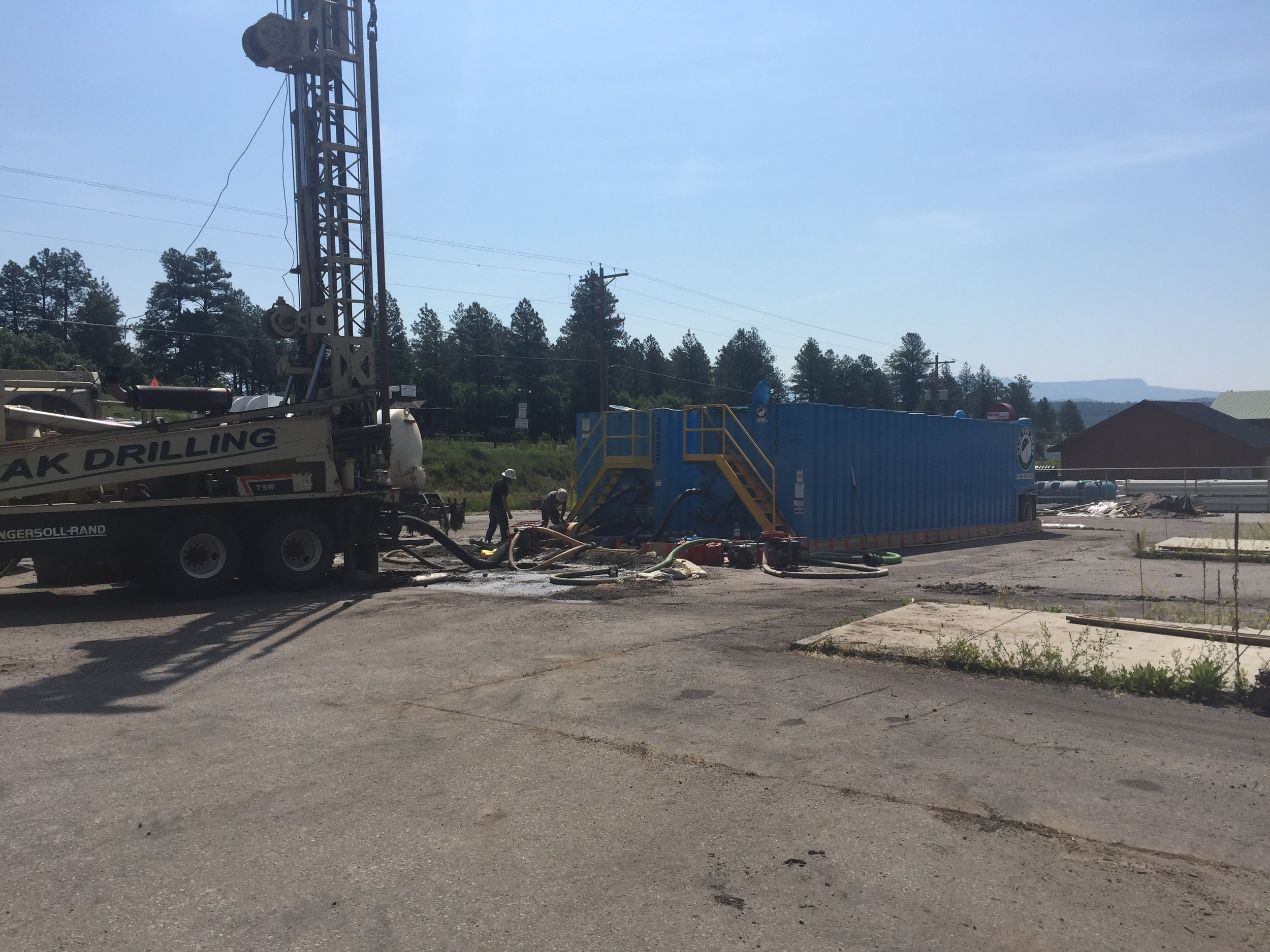 Now Drilling in Santa Fe, New Mexico