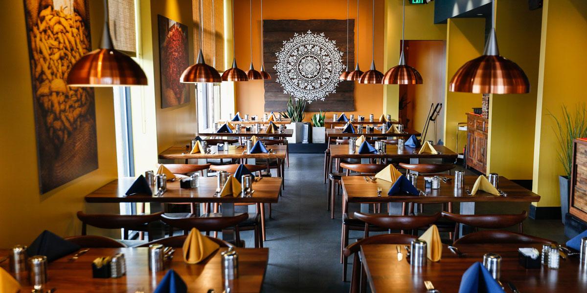 Saffron Bistro Sugarhouse Liberty Wells Salt Lake City Indian Restaurant