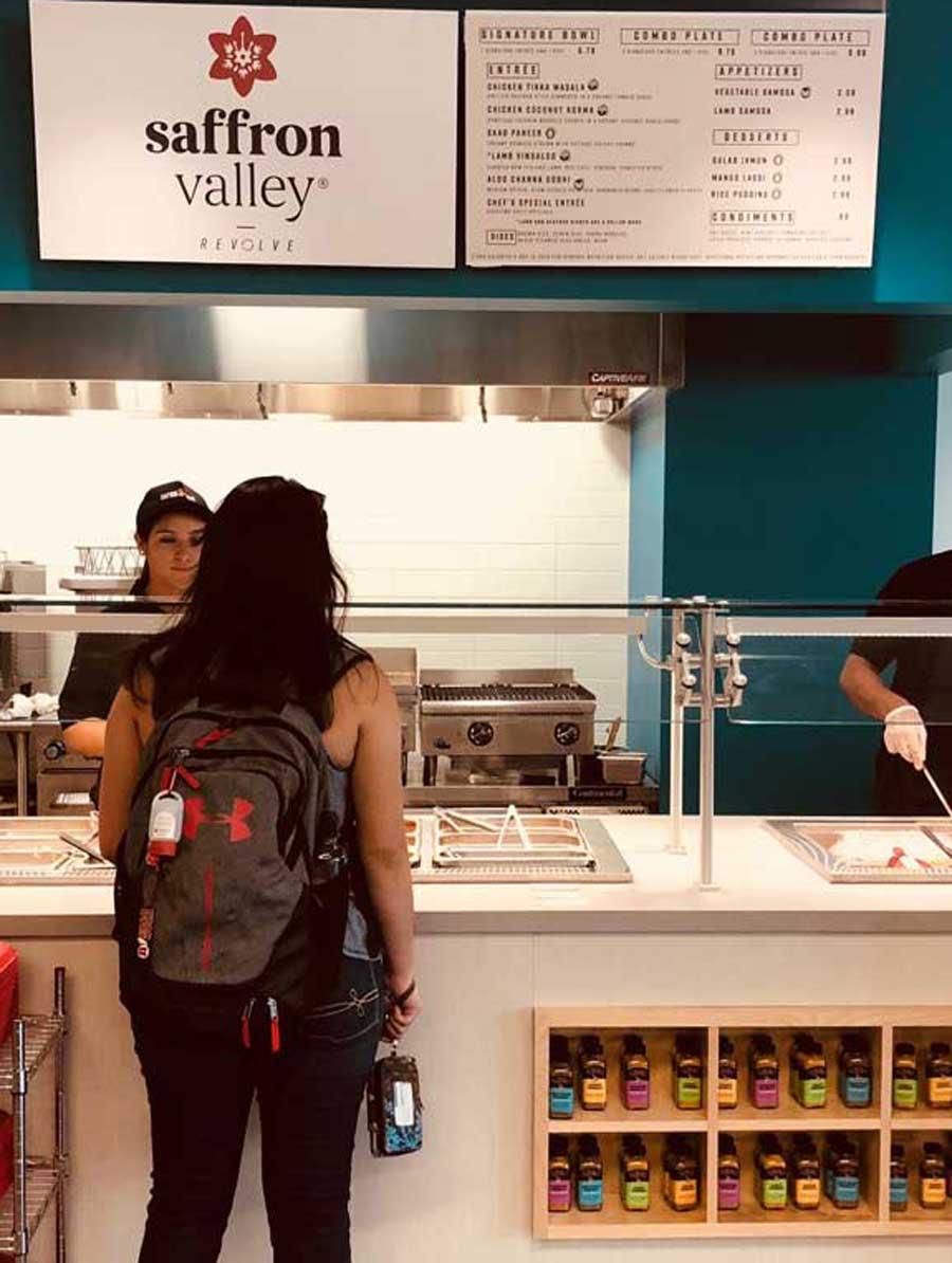 University of Utah Campus Indian Cuisine Saffron Valley