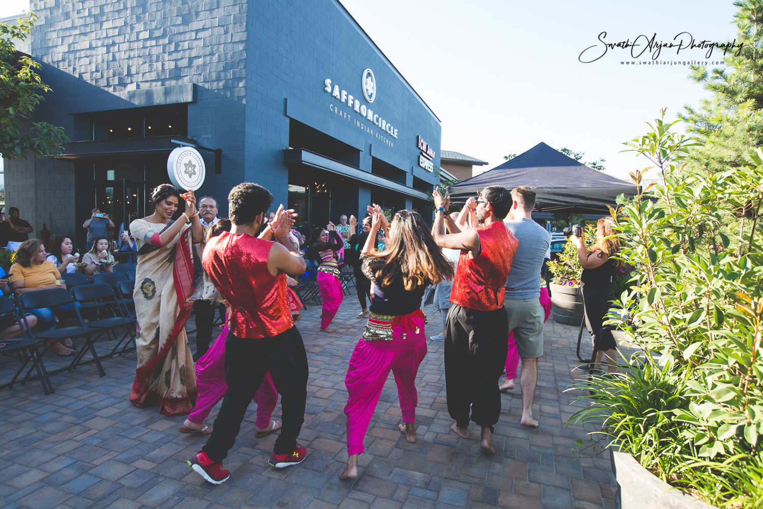 Bollywood dancing with guests and BollyPop Utah