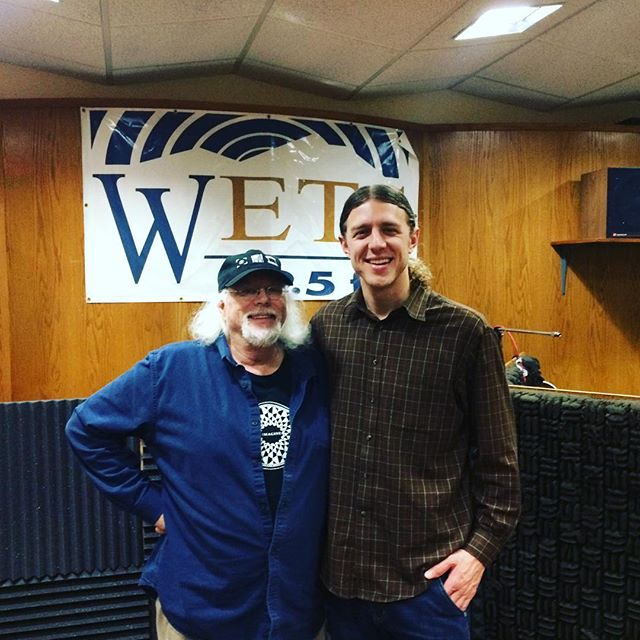 Going live 1-2PM on WETS Radio with Dave Carter