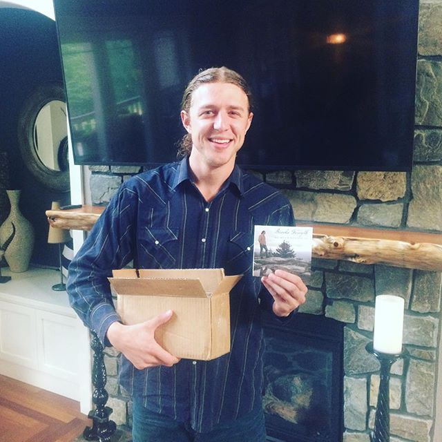"Just got the first shipment of the new album ""So Much Beyond Us""! Recorded in Nashville, TN with producer Buzz Cason at Creative Workshop Studios. Will be available online soon, find out more at www.brooksforsyth.com #newrelease #nashville"