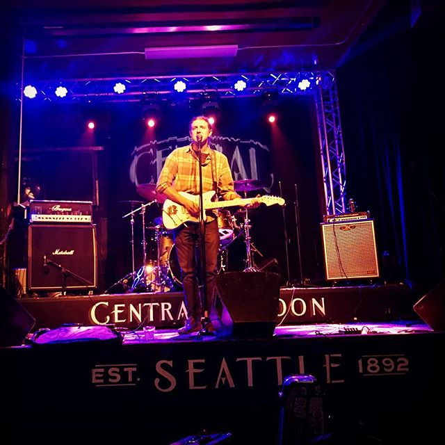 Some more shameless promotion. Got to play a few songs at Central Saloon in Seattle last week #centralsaloon #seattle