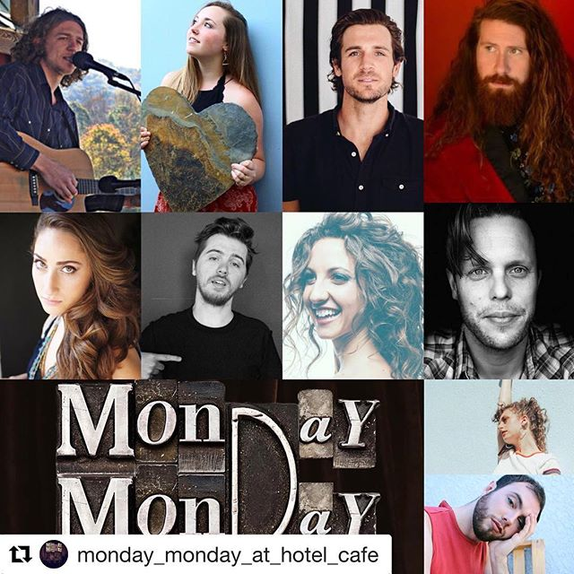 Hotel Cafe tonight at 8PM Los Angeles, CA for the Monday Monday series! #hotelcafehollywood