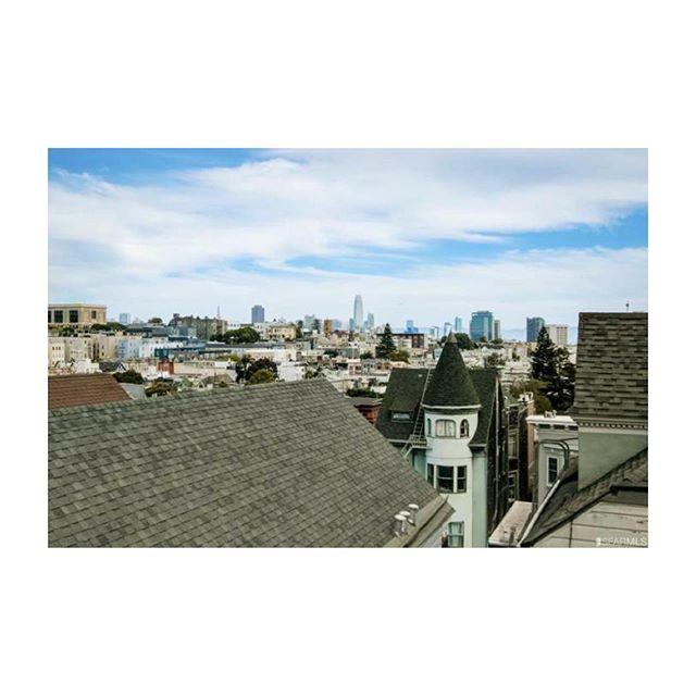 Haight street attic views. Love this city. . . . . #sfre #sanfrancisco #sf #homestaging #atticdreams #attic #loft #cityliving #interiordecorator #homedecor #interiordecor #homestylist #interiorstylist #teamworkmakesthedreamwork #cityviews #haightstreet