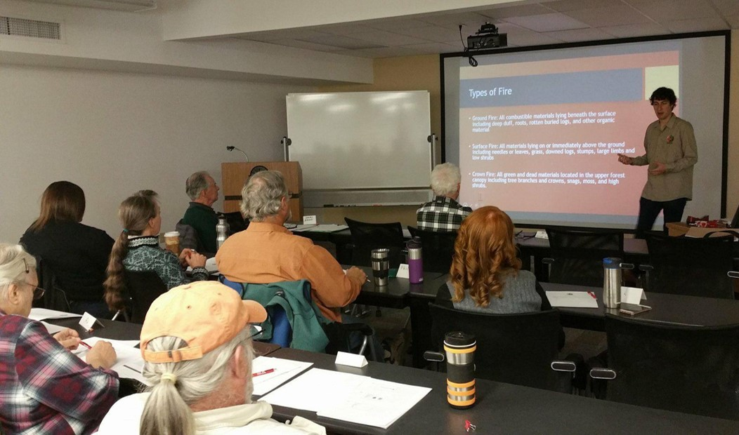 Ambassadors and members of the community attend a one day Home Ignition Zone workshop. Continuing education credits for realtors are available with this course.