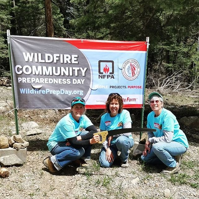 CWPP members from Enchanted Forest Estates shared their Wildfire Prep Day story with us for our May E-News. Check it out at our website now!