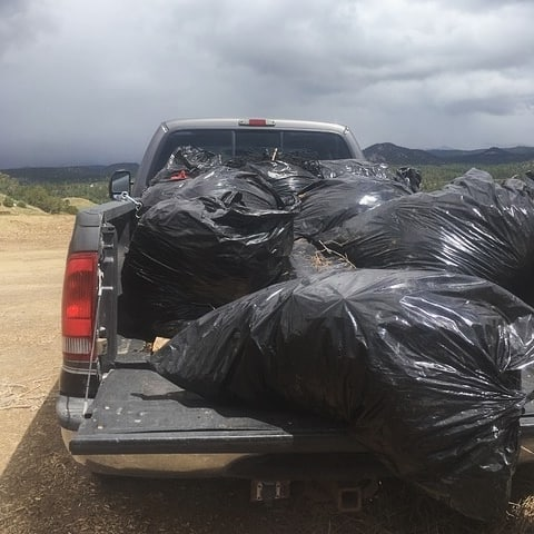 The week of May 4th, the Greater Lemon Reservoir neighborhoods in La Plata County collected 24 bags of ground litter and built and installed two bulletin boards in the community to help spread information. We are so proud of what twelve volunteers accomplished! Thank you for making your neighborhoods safer.