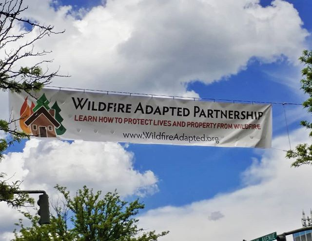Did you see our banner at 8th & Main last week?
