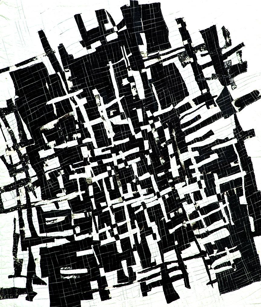 "Organic Grid -- 36"" x 42"" -- 2001"