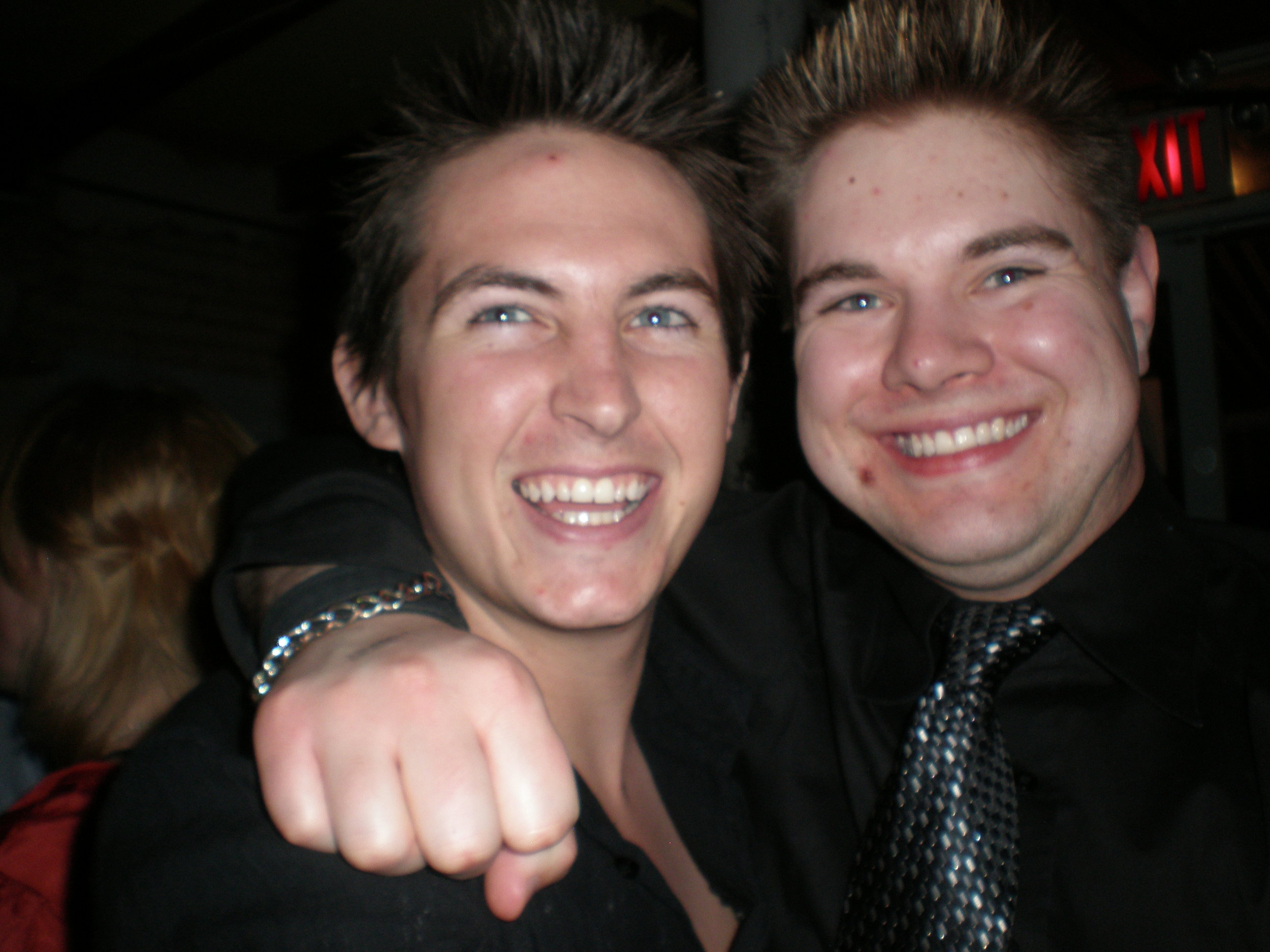 Alex with Real Social Dynamics Salesman Stuart M Lewis, 2009