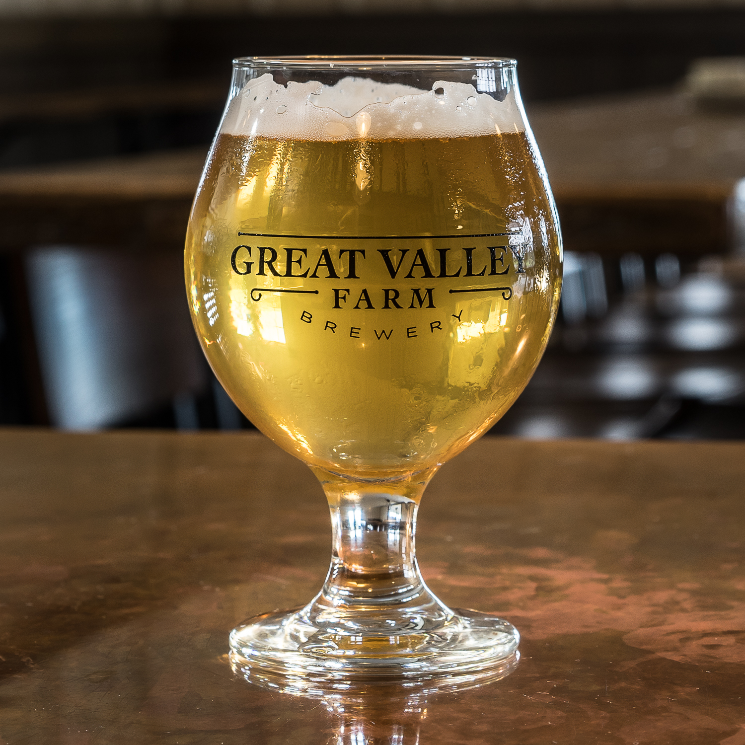 - What attracted me to Great Valley Farm is the fact that they love and brew Belgian style ales. A must-try is the Tardif Saison.