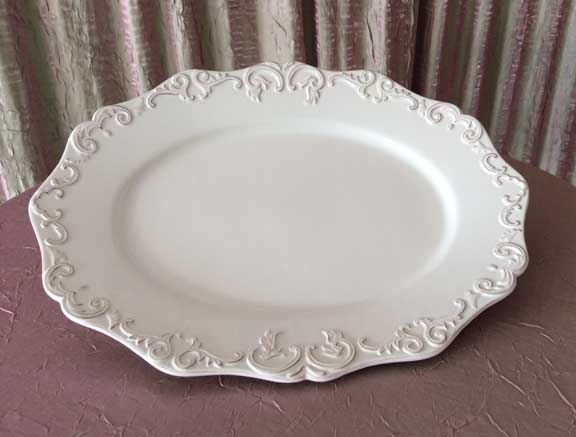 Serving Platter Large $16.00 Small $13.00