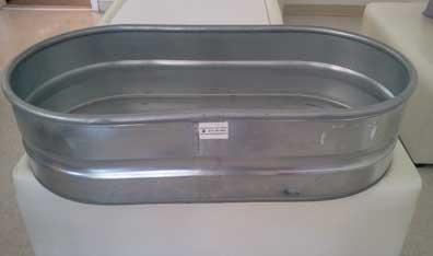 """Heavy Duty Oval Drink Tub  49.5"""" x 25"""" x 12""""  $20.00"""
