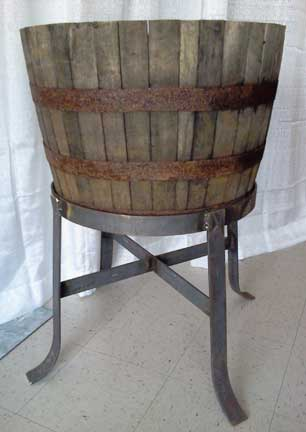 Rustic Drink Tub w/Stand  $35.00