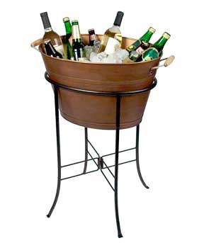 Copper Drink Tub w/Stand  $20.00