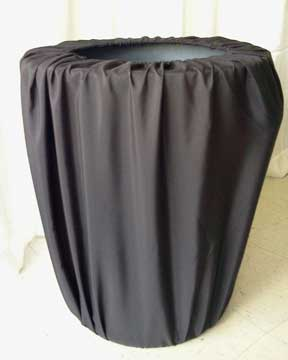 30 Gal Trash Can  w/Black Cover  $8.00