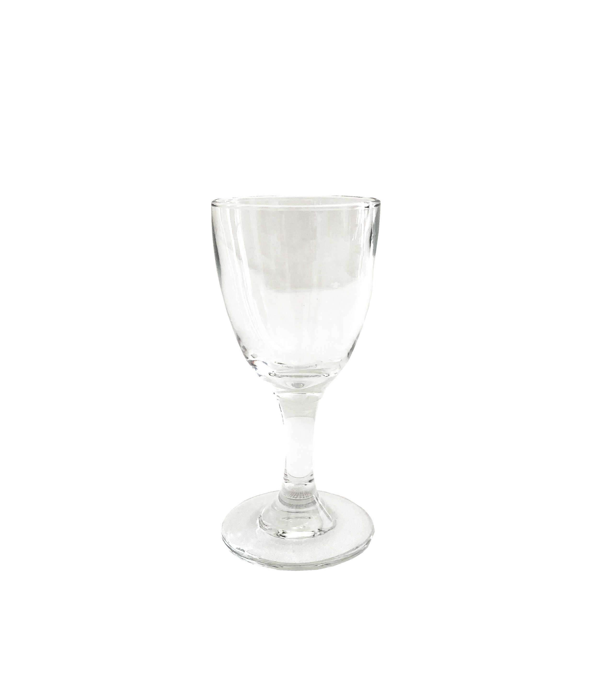 "3oz. Sherry Glass   3""tall X 2"" diameter  $0.60 each"